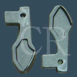 Baffle, lost wax casting, precision casting, investment casting