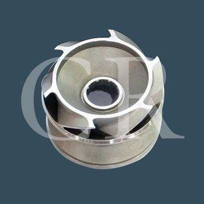 impeller investment casting, lost wax casting process, precision casting china
