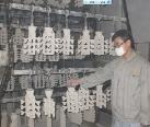 Shell drying, silica sol lostwax casting