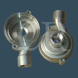 Stainless steel investment casting process, precision casting, lost wax casting- case of pump