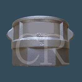 Camlock couplings type D - Stainless steel casting