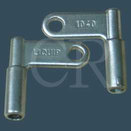 Stainless steel key, lost wax casting, precision casting, investment casting